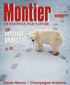 Affiche du Festival de la Photo animalière et Nature 2015 de Montier en Der